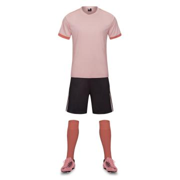 Pink color soccer jersey for men
