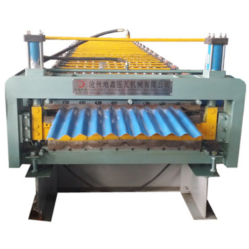 High precision handy corrugated steel sheets forming machine