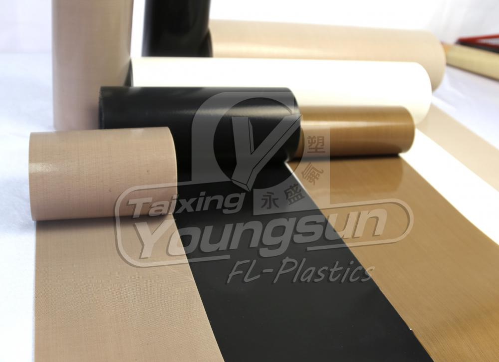 High Temperature Resist PTFE Coated Glass Fabrics