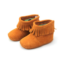 Customized for Warm Boots Baby Soft Leather Infant Shoes Baby Boots Wholesales export to Indonesia Factory