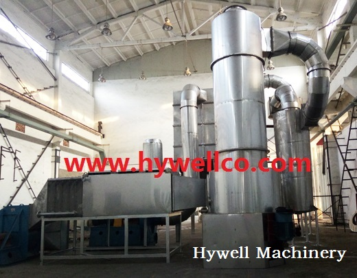 Phosphor Powder Spin Flash Drying Machine