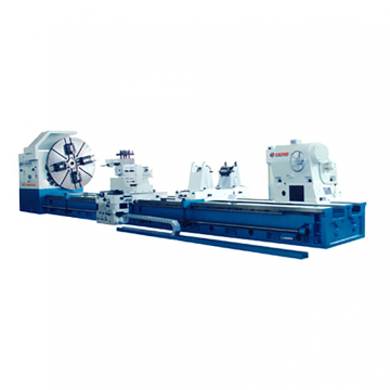 Heavey duty lathe Max.weight of workpiece	32T