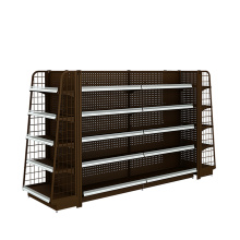 China New Product for Backplane Supermarket Shelf,Hole Supermarket Shelf,Net Supermarket Shelf Manufacturers and Suppliers in China Competitive Price Display Rack For Supermarket supply to Saint Lucia Wholesale