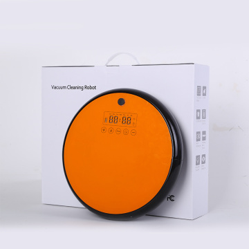 LED Touch Display Vacuum Robot