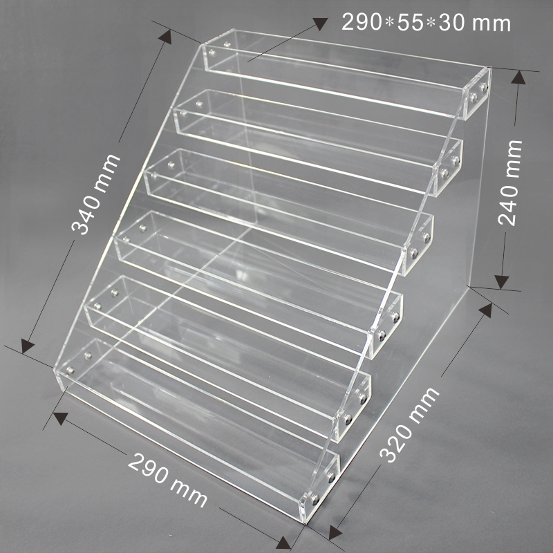 clear acrylic display holder