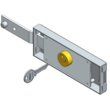 Best Price for for Metal Roller Shutter Door Lock Single Left Deadbolt Roller Shutter Lock export to Italy Wholesale