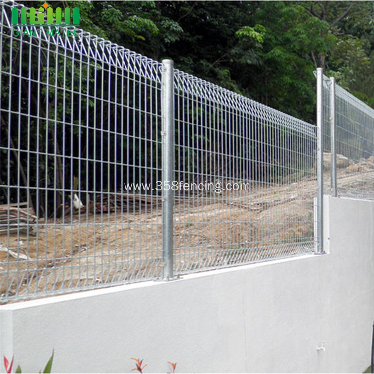Rolled Top BRC Welded Mesh Fence