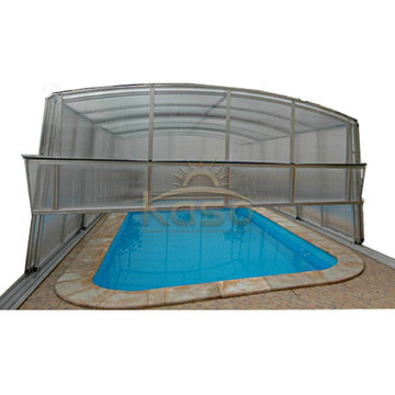 10 Years for Retractable Pool Enclosure Hard Enclosure Hexagon Swimming Pool Cover supply to Venezuela Manufacturers