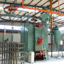 China for China Hook Type Shot Blasting Machine,Single Hook Shotblasting Machine,Double Hook Shotblasting Machine Supplier High Quality Hanging Type Shotblasting Machine export to Morocco Manufacturers