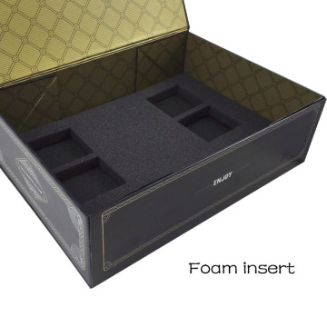 Folding Custom Sturdy Gift Box with Divider