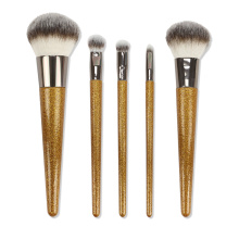 I-Newest 5 Pcs Makeup Brush Setha