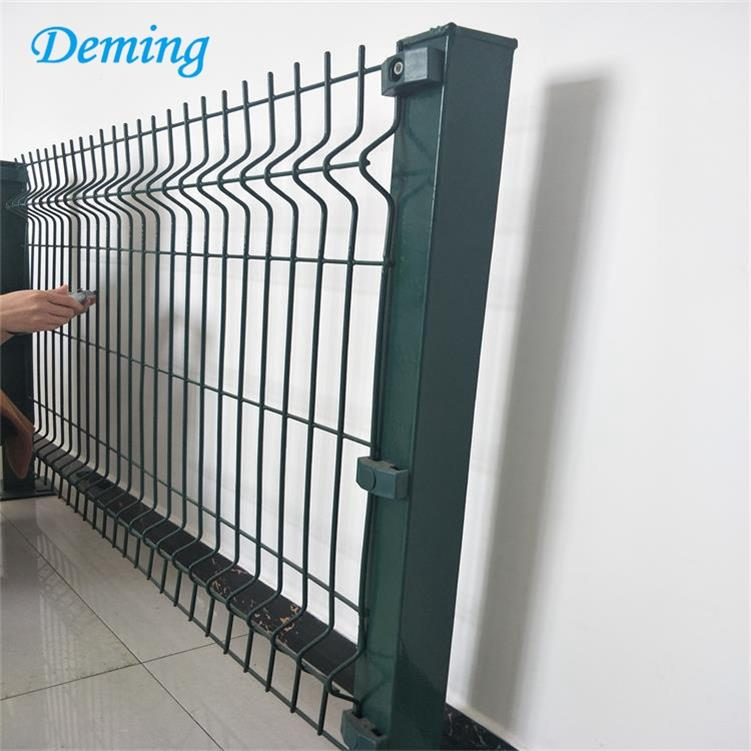 High Quality Hot Dip Galvanized Metal Fence