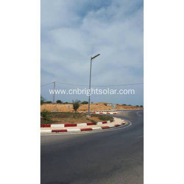 Q235 6M LED street light pole