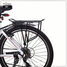 High strength mountain bike steel bike rear rack for V brake disc