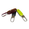 Brown Leather Swivel Flash Memory USB Stick