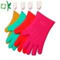 Silicone Cooking Washing Gloves with Scrubber Gloves
