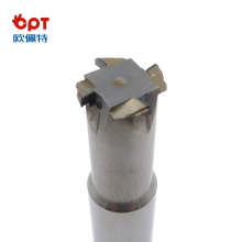 PCD diamond tipped edge armour slotting forming cutter