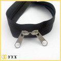 2 way open end nylon coil zipper