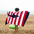 100% cotton velour printed beach towel bath towel