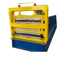 hot sales three-layer Color Steel Roll Forming Machine