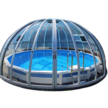 Cover Spa 6M Transparent Roof Top Swimming Pool