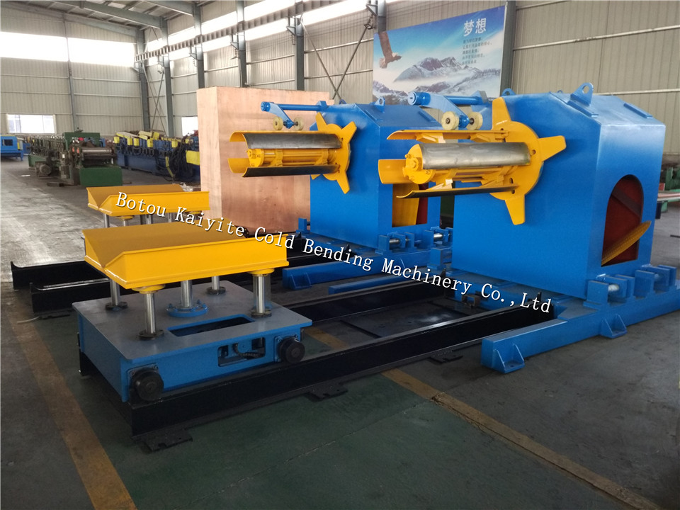 10 Tons Hydraulic Decoiler With Loading car