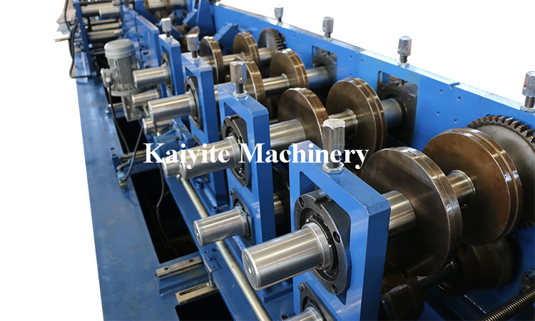 Steel C Purlins Roll Forming Machine