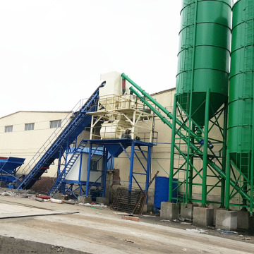 HZS90 ready mix concrete batching plant
