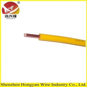 single core electrical connecting wire