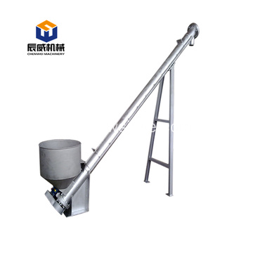 304 stainless steel powder ash screw conveyor machine