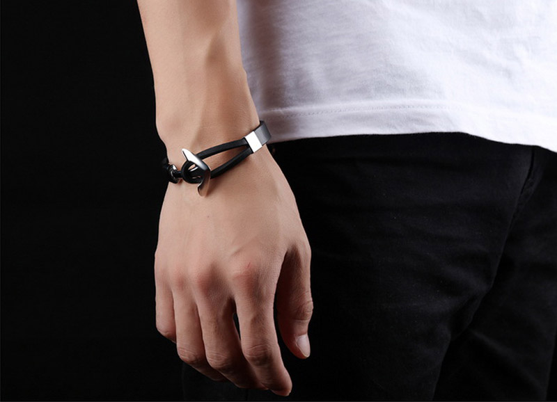 leather bracelet for her