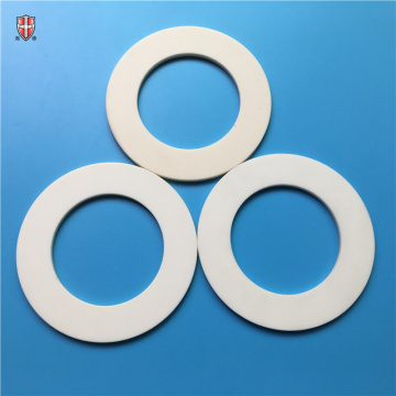 wear corrosion resistant alumina insulator spacer ring