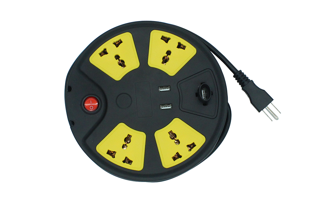 Universal 4 outlet Swivel disc Socket