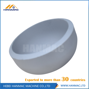 Aluminum alloy seamless steel cap