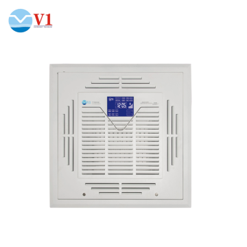 Ceiling air conditioner cleaner machine hepa air purifier