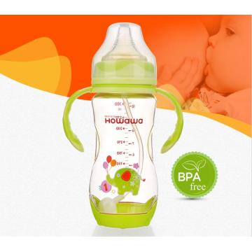 10oz Heat Sensing Baby Nursing Milk Bott Holder