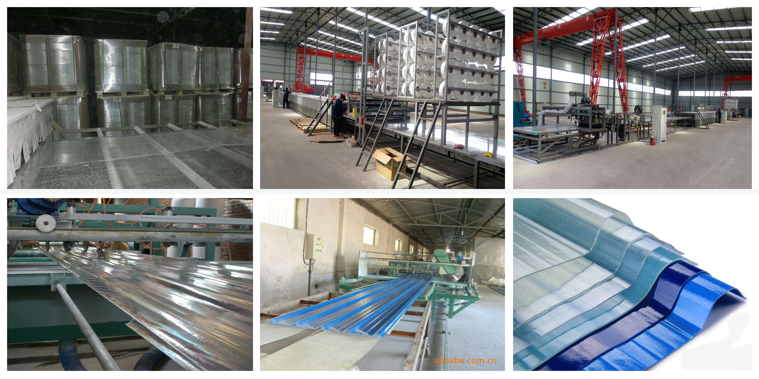 production line of FRP SHEETS