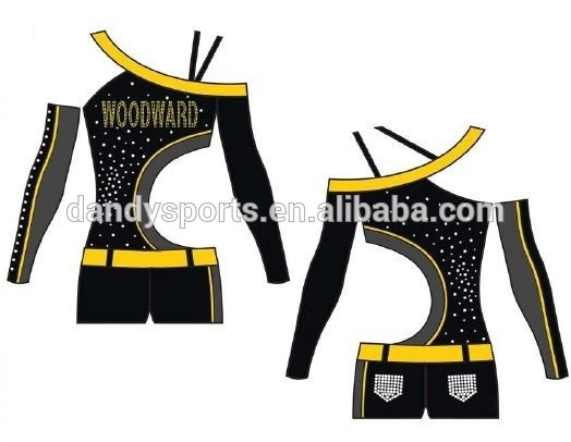Rhinestone Cheer Uniform