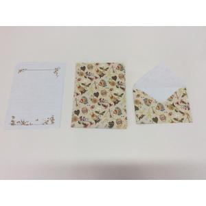 literary retro beautiful stationery envelope set