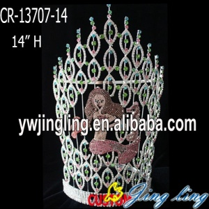 Big Custom Mermaid Pageant Crown For Sale