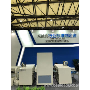 Four Pipes Fiber Filling Machinery