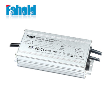 UL 80W Dimmable LED Driver Vandtæt