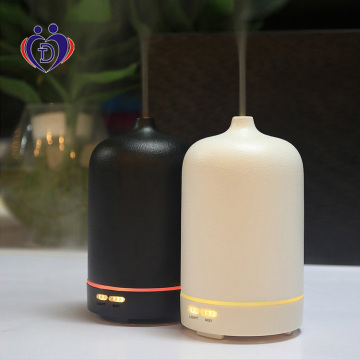 White Ceramic Aromatherapy Diffuser With Essential Oil