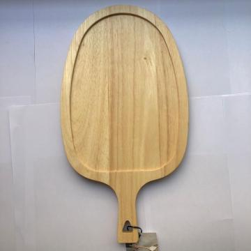 Rubber wood fruit cutting board