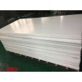 Extruded White Delrin POM Copolymer Sheet