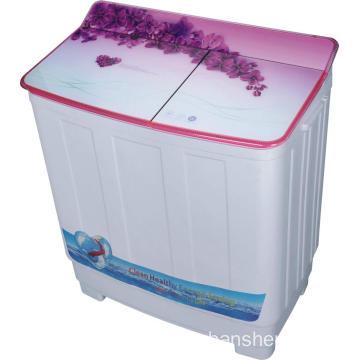 9.5KG Glass Cover Twin Tub Washing Machine