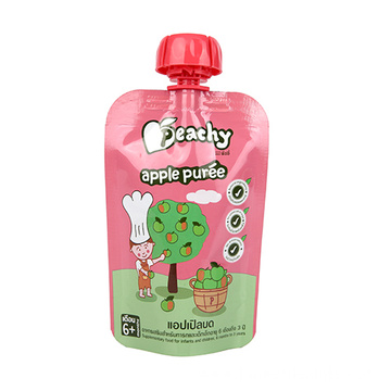 Baby Food Stand Up Spouted Pouch
