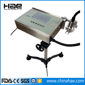 High resolution automatic industrial inkjet printer