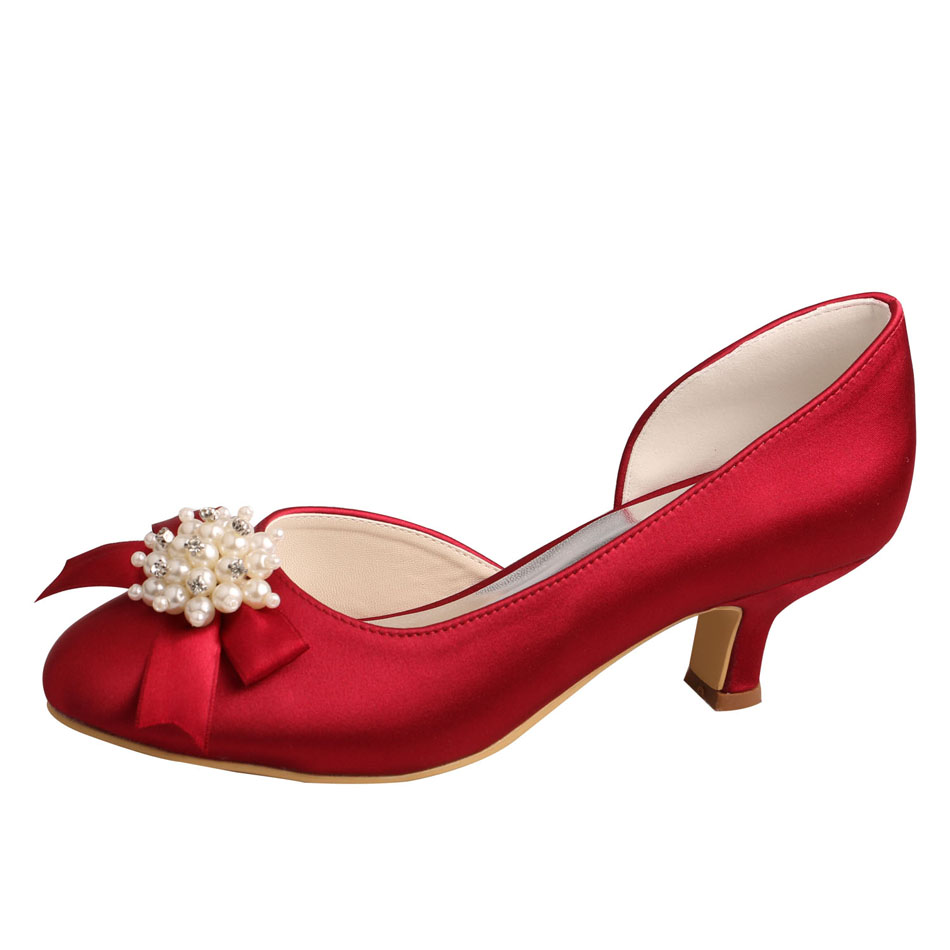 Bridal Shoes Low Heel