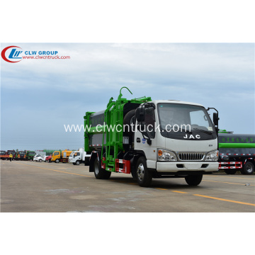 Hot Sale JAC 8cbm Waste Management Recycling Truck
